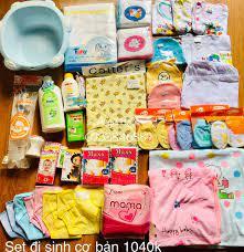 Đồ dùng quần áo sơ sinh trọn gói cho Mẹ và Bé - Home