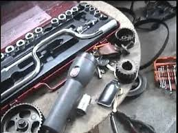 2E engine toyota replace oil seal and timing belt.mpg - YouTube