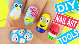 Art Designs Diy Nail Art Tools With 5 Easy Nail Art Designs How To Paint Your
