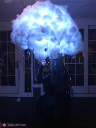 a flash of the storm in the dark storm cloud costume