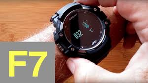 No.1 F7 Rugged IP67 Waterproof Sports GPS <b>Smartwatch</b>