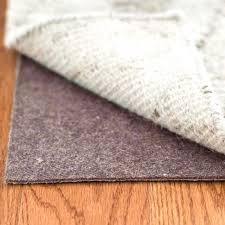 pvc rug pad get a grip are pvc rug pads safe for wood floors pvc coated