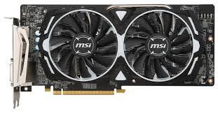 <b>Видеокарта MSI Radeon RX</b> 580 1366MHz PCI-E 3.0 8192MB ...