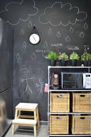 Love the blackboard wall