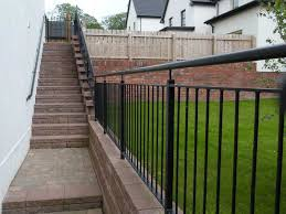 external handrails for steps uk. steel stair safty railings external handrails for steps uk