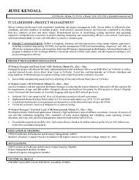 Project Manager Resume Examples Classy Project Management Resume Examples Inspirational Project Manager