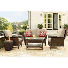 Ty Pennington Style 65 F Parkside 4 Piece Deep Seating