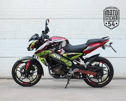 Pulsar Sticker Design Bajaj Pulsar Ns200 Project46 Rossi Shark Design Sticker