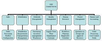 An Integrated View Of Enterprise Resource Planning System