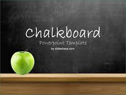 Chalkboard Ppt Theme Back To School Ppt Template Free Download Natural Education