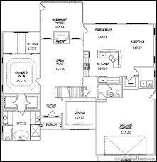 master bedroom floor plans. main floor master plans | 1st suite bedroom b