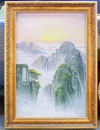 chinese landscape paintings painting oil painting autograph handwritten hand painted gifts gifts feng s