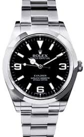 buy men s used rolex watches at the best prices at bob s watches explorer i ii