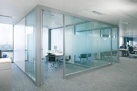 glass office design. Glass Partition Wall Office Design