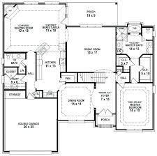 4 Bedroom 3 Bathroom House Plans 3 Bath House Plans Large House Plans 7  Bedrooms 5 .