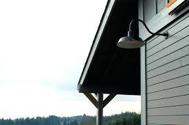 gooseneck exterior light outdoor barn lights gooseneck outdoor light home depot
