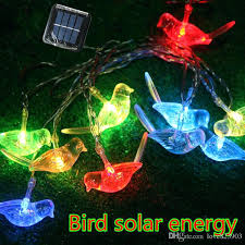 astonishing solar lighting outdoor hot bird solar lights animals led small night lamp children room decoration