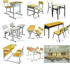 nice design single student desk and chair classroom desk school furniture