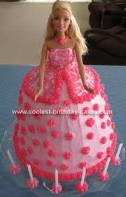 Coolest Barbie Doll Birthday Cake Design