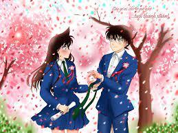 Shinichi and Ran at... - Detective Conan - The Red Thread