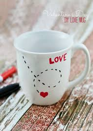 diy valentines day gifts for him diy love mug cool and easy things to