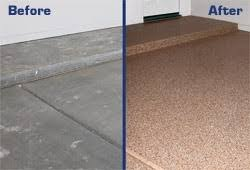 garage floor paint before and after.  After Concrete Epoxy Paint Before And After Applying Garage Flooring With Garage Floor Paint And