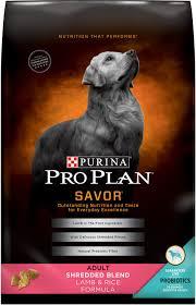 Purina Pro Plan Savor Adult Shredded Blend Lamb Rice Formula Dry Dog Food 18 Lb Bag