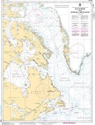 Gulf Of Maine Chart Chs Nautical Chart Chs4000 Gulf Of Maine To A Baffin Bay Baie De Baffin