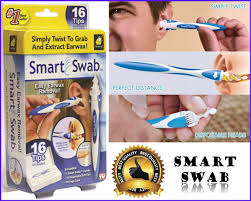 smart swab removal tool easy earwax removal with disposable soft tips