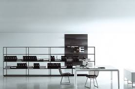 minimal office. Elemental Elegance: 9 Minimalist Office Interior Designs Photo Details - From These Gallerie We Give Minimal T