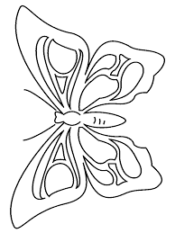 Coloring Pages Butterflyring Page Preschool Activity Printables