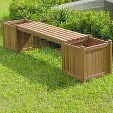 garden bench planter box. buy combining style and durability, this greenfingers planter box garden bench has two planters, one at each end, which.