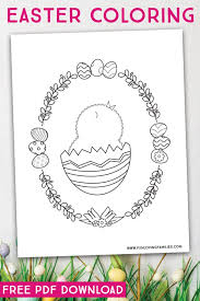 9 Easter Coloring Pages To Download For Free Fun Loving Families