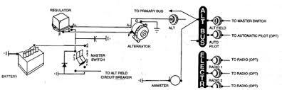 cessna 172 alternator wiring diagram cessna 172s electrical Cessna 172R Poh at Cessna 172r Wiring Diagram Manual