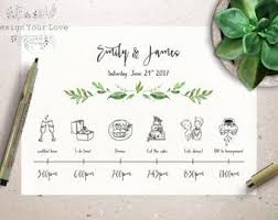 wedding day itinery customized wedding weekend timeline printable wedding weekend