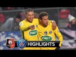 Rennes Vs PSG 4040 Résumé Et Tous Les Buts Coupe De France YouTube Awesome Marseille Rennes Resume