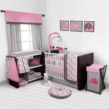 grey furniture nursery. Endearing Baby Girl Nursery Sets 12 Pink And Gray Traditions Crib Bedding Large Grey Furniture