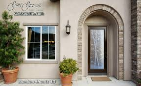 Etched Glass Doors Frosted Glass Doors Tropical Glass Doors Glass Front Doors