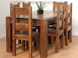 Kitchen Chairs  Beautiful Retro Dining Room Ideas With - Rustic chairs for dining room
