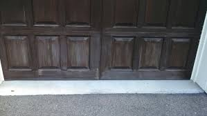 darker garage doors will fade and look chalky over time lighter colored doors will show dirt stains and rust either way garage door painting is an easy