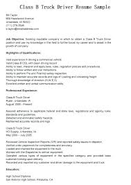 Objective For Truck Driver Resume Truck Driver Resume Objectives 35