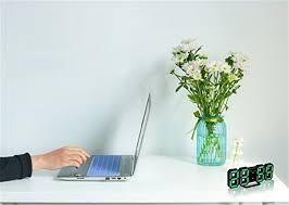 <b>Digital 3D LED</b> Table Alarm Clock 24/12 Hour Display Plastic Alarm ...