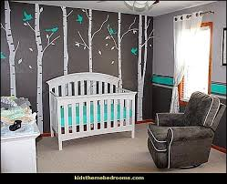 baby room ideas for a boy. Not For A Nursery, But I Like It! Tree Wall Decals Birch Trees Decal Nursery Office Murals - Six Big With Flying Baby Room Ideas Boy
