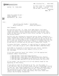 IRS Audit Letter 12C Sample 1a