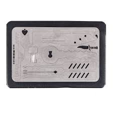 Because of that, this deck is a bit thicker and heavier than most playing cards. United Tactical Chaos Survival Card Keep Shooting