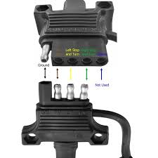 Trailer Brake Wiring Harness 4 pin trailer plug dolgular com