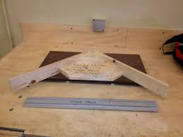 picture of picture frame jig for table saw