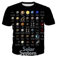 PLstar Cosmos 2019 Newest <b>fashion</b> T shirt <b>Solar System</b> ...