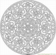 Small Picture kaleidoscope Coloring Pages