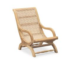 riviera outdoor lounge chair teak and